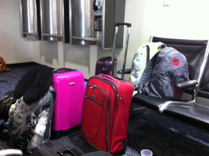 Zuviel Handgepäck kommt ins Flugzeug