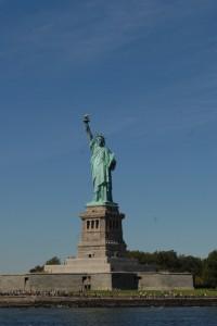 Freiheitsstatue in New York, Foto von Helmut Kasper