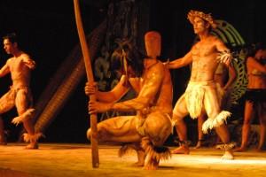 Rapa Nui beim Tanzen. Foto Helmut Kasper