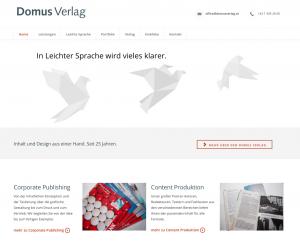 Domus Verlag Web