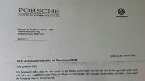 VW Rückruf