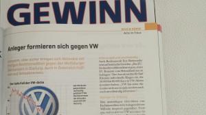 Zeitungsausschnitt eines Artikels von Lydia Ninz im GEWINN
