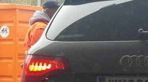 Audi fährt in die Werkstätte