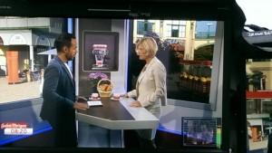 Lydia Ninz heute Früh bei Patrick Budgen im ORF Frühstück TV Fotocredit Monika Cetin