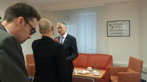 Konsumentenschutzminister Alois Stöger im Klub der Wirtschaftspublizisten