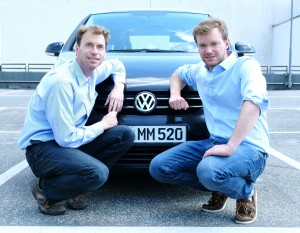 Jan Eike Andresen (re) und Sven Bode von myRight packen die Causa VW an (Copyright Andresen)