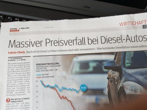 Preise für Diesel ruttschen