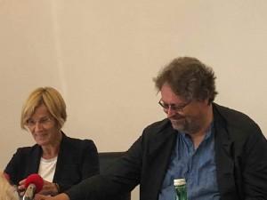Lydia Ninz und Peter Kolba