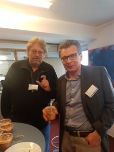 VSV Obmann Peter Kolba und Franz Greil von der AK