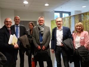 Klauser, Brauneis, Huber, Poduschka, Hirmke, Wolf