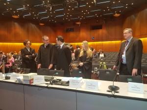 Die VW Anwälte in Braunschweig. Foto: VSV