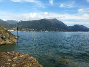 Gardasee: Blick von Punta del Corno