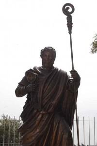 Petrus mit dem Rücken zum See  Genezareth