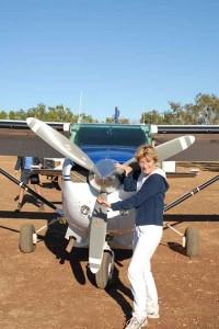Lydia Ninz in Australien