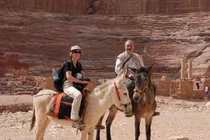 Lydia Ninz in Jordanien