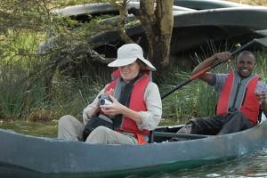 Lydia Ninz in Tansania Afrika