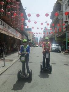 Mit Segway durch Chinatown von San Francisco
